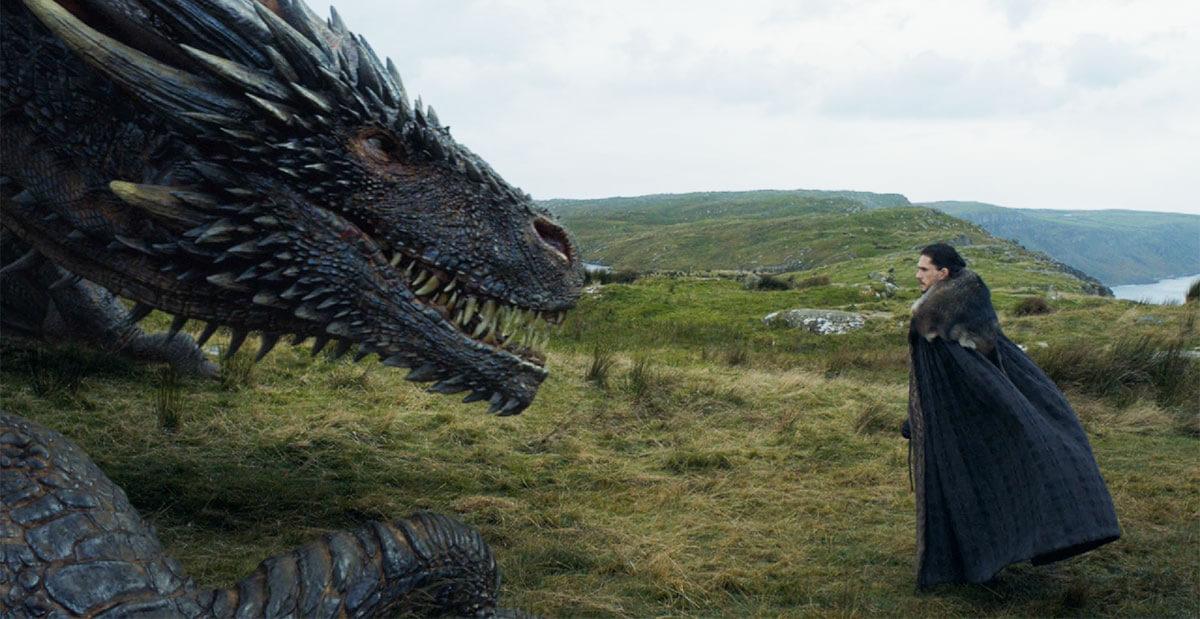 Джон Сноу будет летать на драконе в 8 сезоне Игры престолов