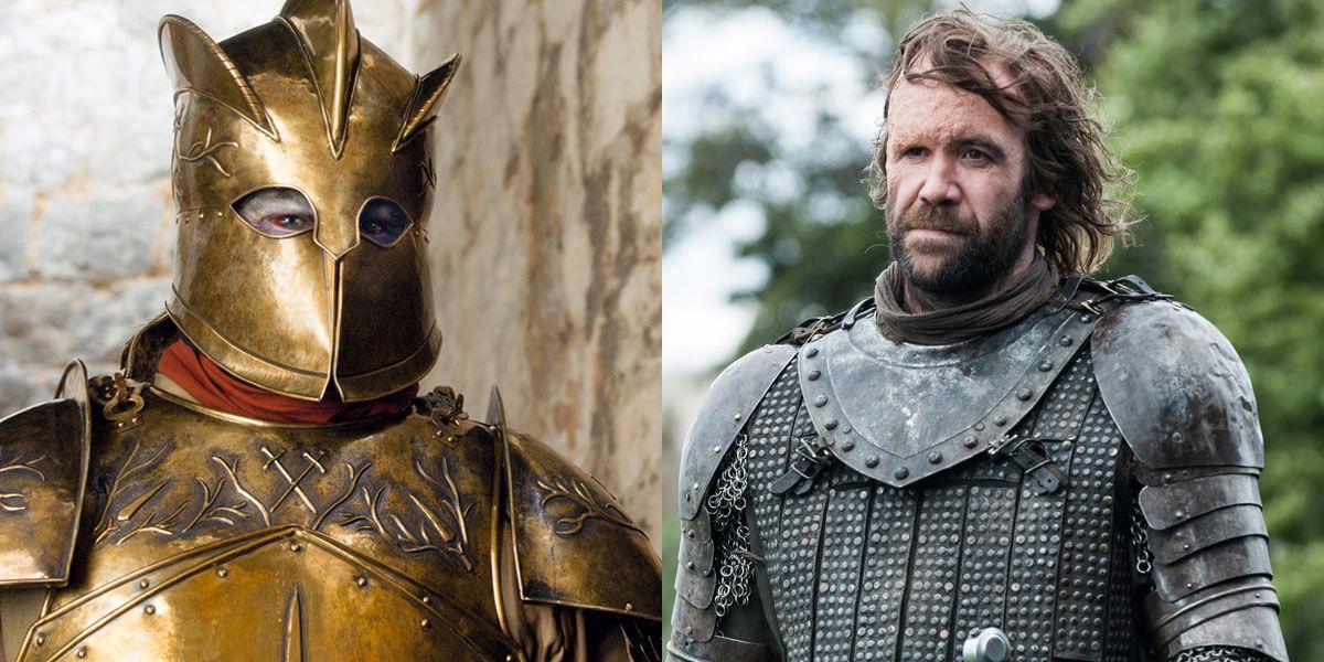 Пес и Гора Клиган будут с разаться в 8 сезоне игрв престолов