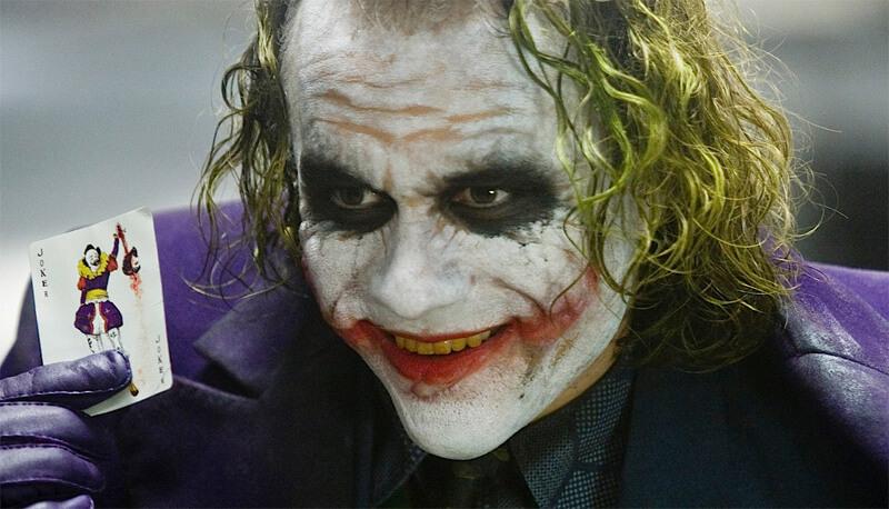 Джокер макияж