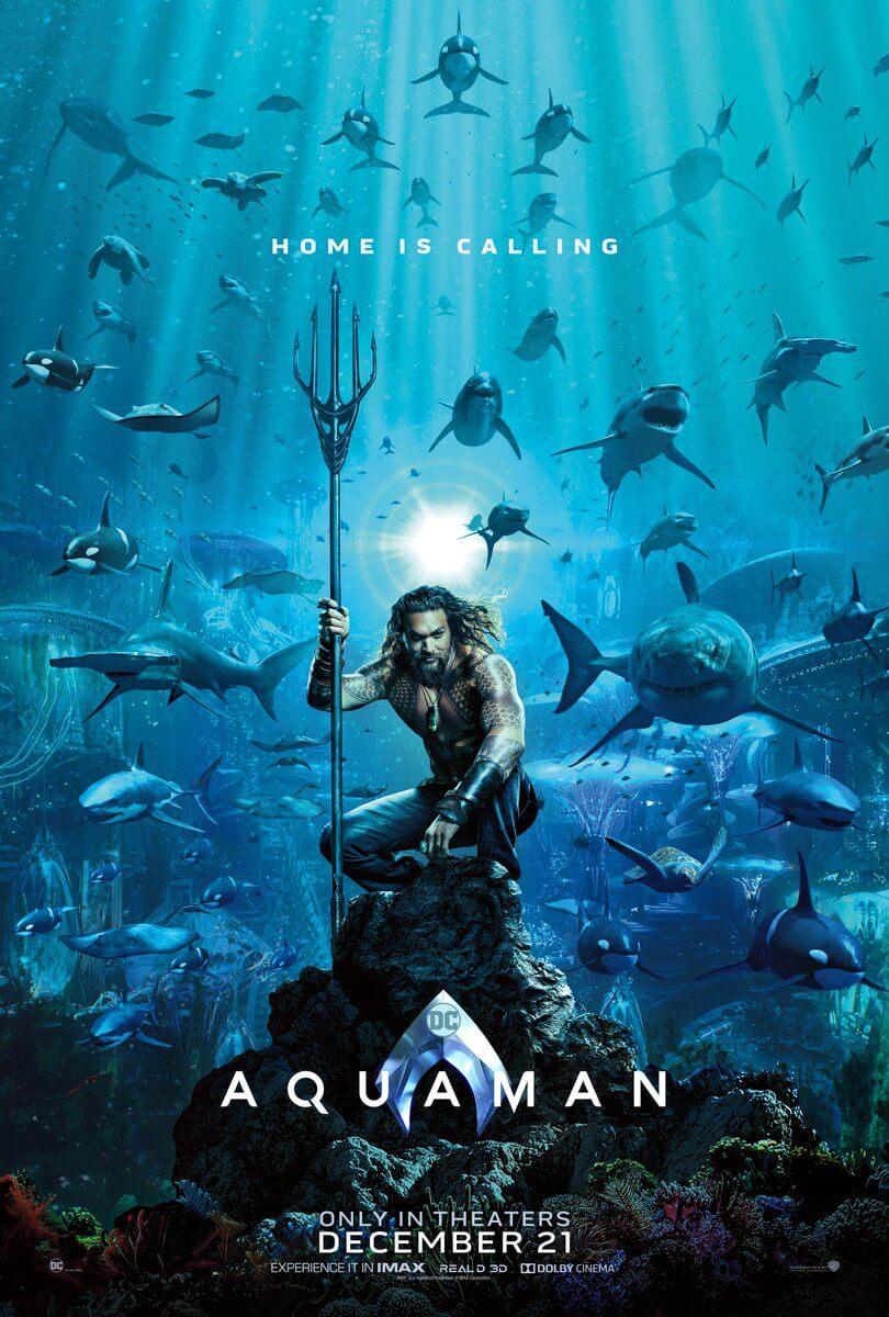 постер аквамен