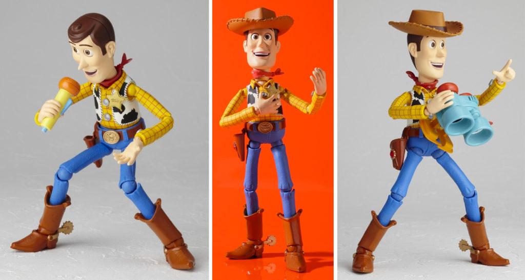 Kaiyodo's Revoltech Toy Story Woody
