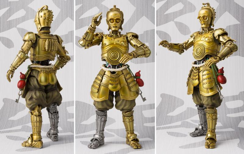 """Фигурка C3PO от Takashi Nation из серии """"Кино-фигурки Звездные войны"""""""