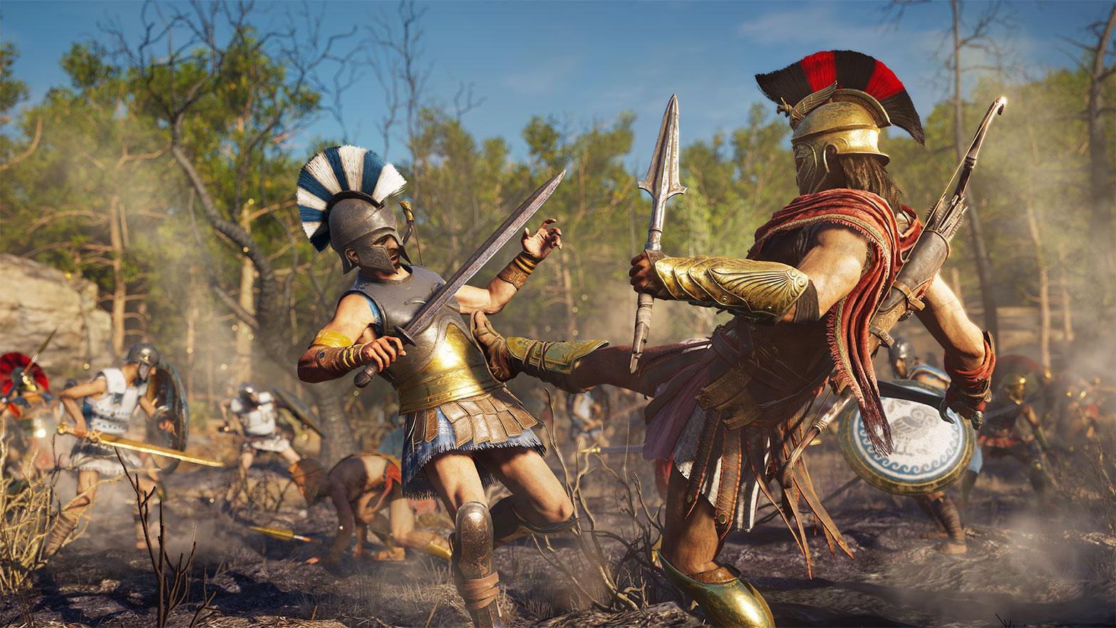 Assassin's Creed Odyssey способности игрока