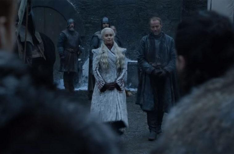 Кадры из 8 сезона Игры престолов