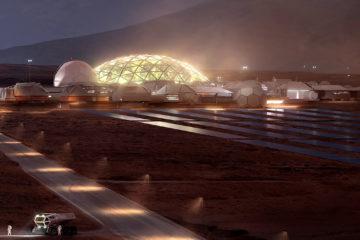 База на Марсе