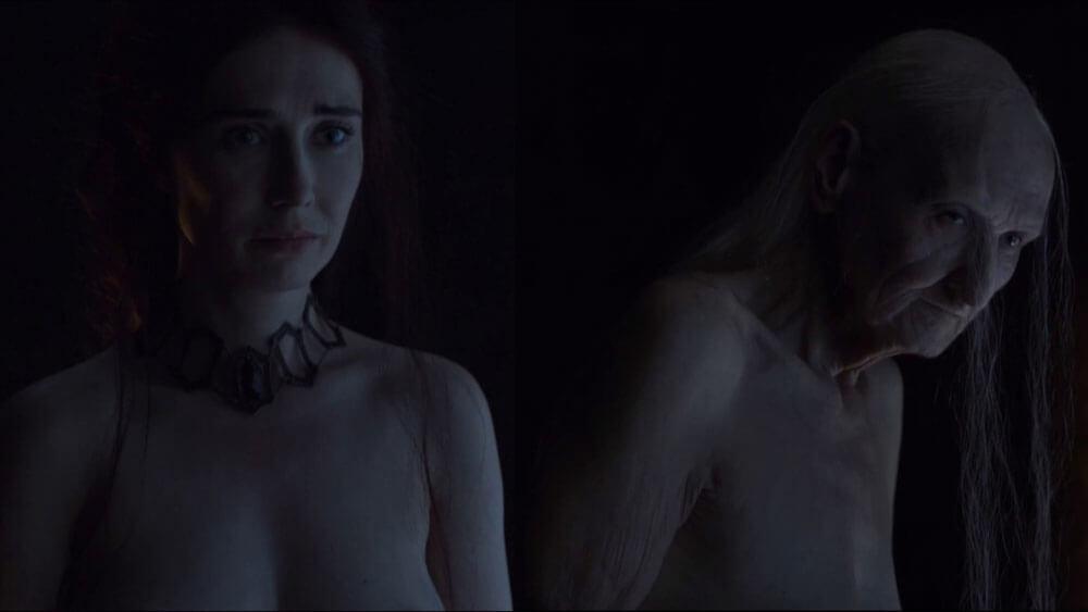 Мелисандра меняет внешность