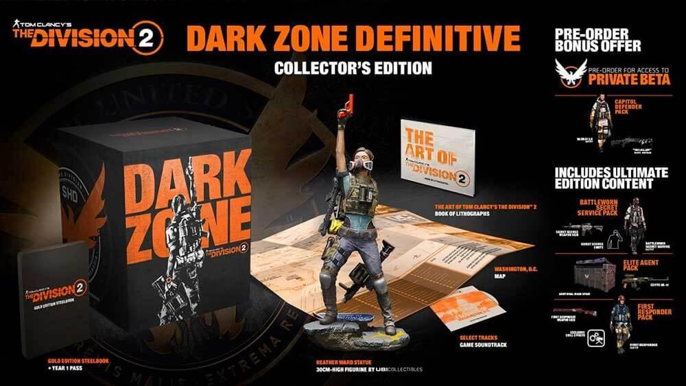 Коллекционное издание THE DIVISION 2 DARK ZONE