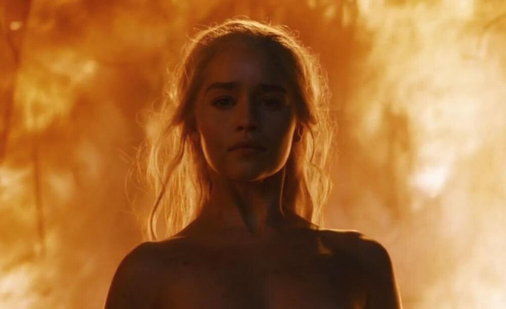 Дейененрис в огне