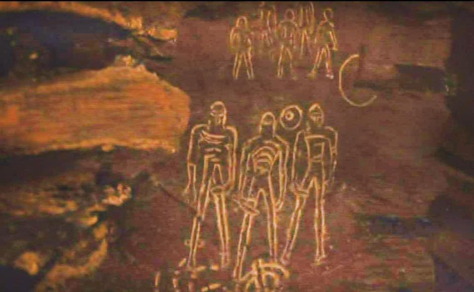 Наскальные рисунки в «Игре престолов» 7 сезон