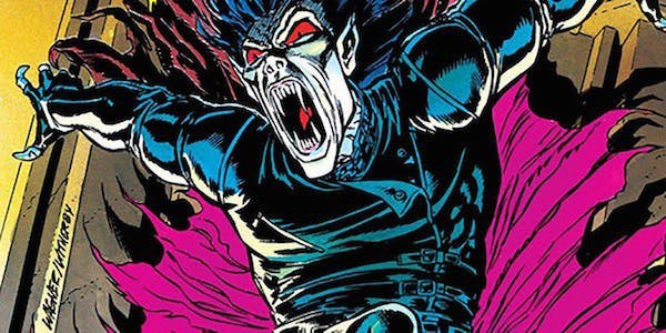 Морбиус Живой Вампир в комиксах