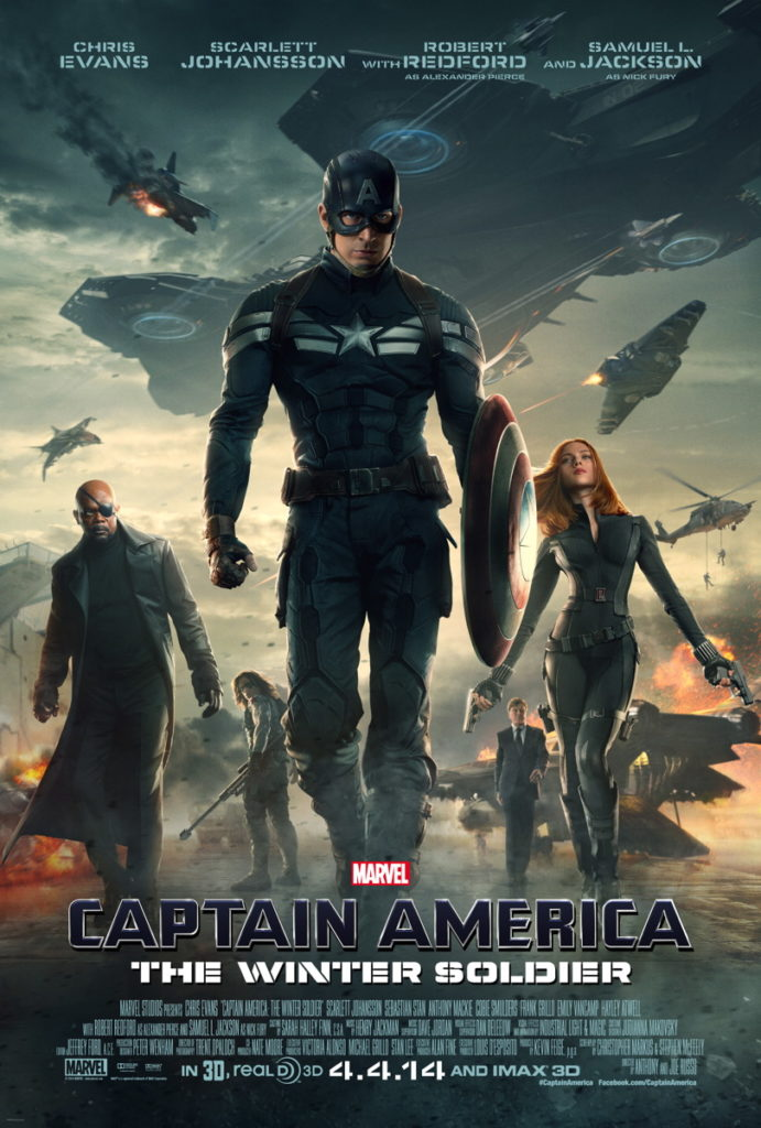 Капитан Америка зимний солдат